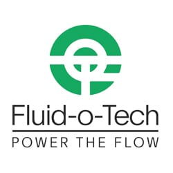 logo for Fluid-O-Tech | power the flow