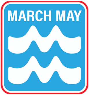 March May logo image