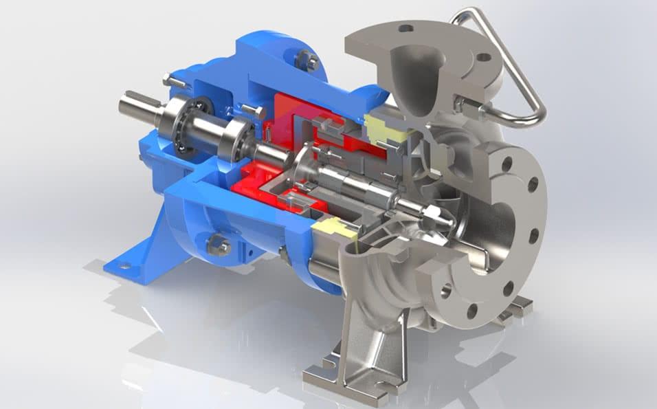 Image of a 3d pump design